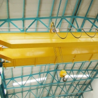 Wholesale Double Girder Wire Rope Pulling 20T Overhead Crane from china suppliers