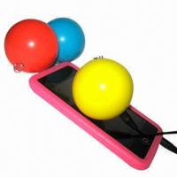 Buy cheap Micro-speakers for MP3/iPod/Mobile Phone/PC, Ball Shape, Built-in Rechargeable from wholesalers