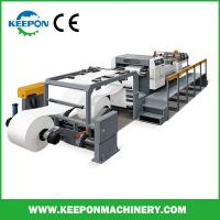 China Servo control rotary knife paper roll cutting machine with CE (CM models) on sale