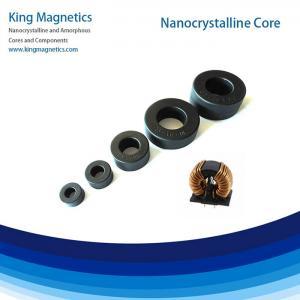 China Low Inductance Nanocrystalline Core for large unbalance current 3-phase cmc choke on sale