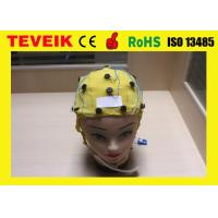 Buy cheap Integrated EEG Cap for EEG Machine ,Tin Electrode 20 leads with Ear Clip from wholesalers