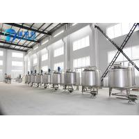 Wholesale SUS 304 Silver Gray Beverage Mixing Machine For Juice Filling Capping from china suppliers