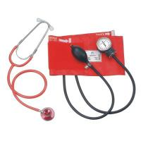China Aneriod  sphygmomanometer Blood pressure monitor with separate dual head stethosope on sale