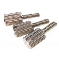 Wholesale M3 Nickel Slotted Brass Knurled Head Thumb Screws Machine Thread Fasteners from china suppliers