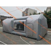 Wholesale Mobile Car Paint Inflatable Spray Booth Eco Friendly For Repair Industry from china suppliers