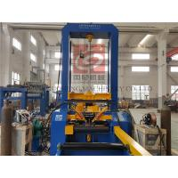 Buy cheap CE H Beam Assembling Machine with Panasonic KRII-350 Automatic Spot Welding System from wholesalers