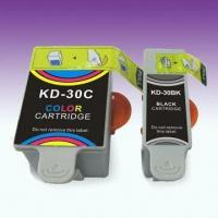 Wholesale Ink Cartridge, Compatible for Kodak 30, with Dye Ink, Suitable for ESP/Hero All-in-one Printer from china suppliers