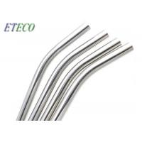 Wholesale Outdoor Picnics Stainless Steel Reusable Straws Mirror Polishing Natural Bent from china suppliers