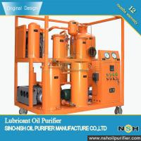 Wholesale Lubrication Oil Purification Machine, industrial oil filtration and recycling, mobile type with various colors, vacuum from china suppliers