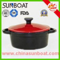 Wholesale Kitchen cookware cast iron customized color enamel dutch oven casserole from china suppliers