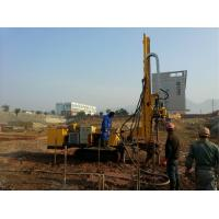Buy cheap Multifunctional Track Mounted Anchor Machine Hydraulic Crawler Rig Bigger Torque from wholesalers