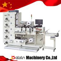 Small Size Label Flexo Printing Machine 4 Colors Of Item