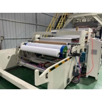 Wholesale For masks filtering cartridge 1600mm width PP meltblown non-woven fabric making machine from china suppliers