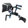 Wholesale Dual Handheld DSLR Shoulder Rig Kit , DSLR Shoulder Mount Support from china suppliers