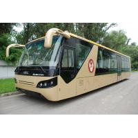 Buy cheap Comfortable Diesel Engine 13 Seater Airport Apron Bus With Aluminum Apron from Wholesalers