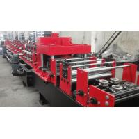 China Dual Holes Punching C Purlin Roll Forming Machine Hydraulic 14 MPa Work Pressure on sale