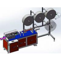 Wholesale Stable Performance Semi Auto Face Mask Machine Aluminum Alloy Structure 220V / 50Hz from china suppliers
