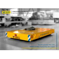 Wholesale Armored Line Powered Workshop Rail Transfer Cart / Industrial Material Handling Carts from china suppliers