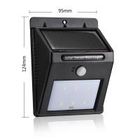 China Auto Control Outdoor Sconce Lighting / Led Exterior Wall Lights With PIR Motion Sensor on sale