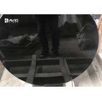 Wholesale High Glossy Black Polished Granite Stone Tiles For Table Top Acid Resistance from china suppliers