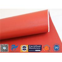 "Buy cheap 1150GSM Silicone Coated Fiberglass Fabric 0.85MM Red Fire Blanket 39.4"" 50M Roll from wholesalers"