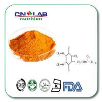 China GMP coenzyme q10, ubiquinol, coq10 , co q10 98% good price fat soluble raw material and capsule in bulk on sale