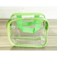 Wholesale Simple Girl Transparent PVC Cosmetic Bags Clear Vinyl Travel Kit from china suppliers