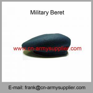 China Wholesale Cheap China Military Wool Polyamide Polyester Army Beret on sale