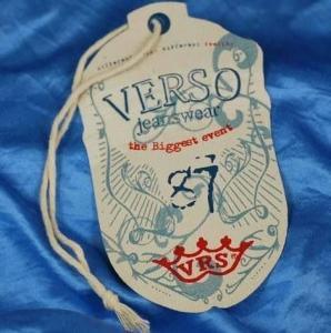 China garment tag on sale
