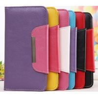 Wholesale Pink Blue Red Iphone 6 Flip Leather Case / Iphone 6 Plus Cover from china suppliers