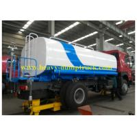 China 6x4 driving howo water tank sprayer / sprinkling truck 30000L for Africa market yellow color on sale