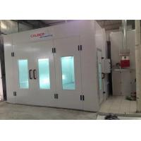 Buy cheap 6.9M Turbo Fan Car Standard Paint Booth , Paint Shop Equipment With Diesel Burner from Wholesalers