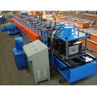 China 40mm - 80mm C Steel Purlin C Z Purlin Rolling Machine With Hydraulic Station on sale