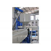 Expanded Polystyrene Foam Sheet Extrusion Machinery , Twin - Screw Plastic Sheet Extruder