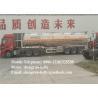 46 cbm 3 Axles flammable liquids fuel tanker trailer cement tanker truck
