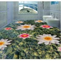Buy cheap Fashion The earth Design Eco-Friendly Waterproof Bedroom Art Decor 3d Floor from wholesalers