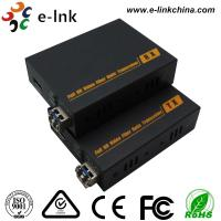Wholesale HDMI 2.0 Fiber Optic Transmitter And Receiver Multi Mode Fiber Type 18Gbps Data Rate from china suppliers