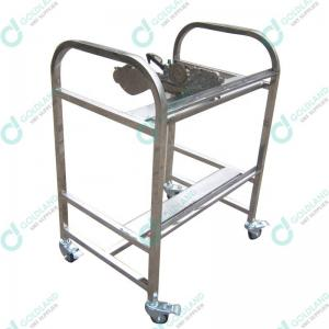 Wholesale Stainless Steel 800mm High 40 Pieces JUKI Feeder Trolley from china suppliers