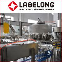 Wholesale 15000BPH Plastic Bottle Filling Machine , 3.29Kw Juice Bottling Machine from china suppliers