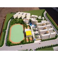 China Customized Scale Miniature Architectural Models For School Project Display on sale