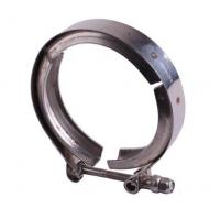 China Fine Polished Grooved Pipe Clamps , Stainless Steel Pipe Fitting Clamps on sale