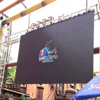 Wholesale HD Full Color Outdoor LED Screen Rental , P4 Movie TV LED Video Wall Panels from china suppliers