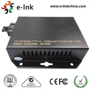 Wholesale Dual Fiber POE Fiber Media Converter , Rj45 Ethernet To Fiber Optic Media Converter from china suppliers