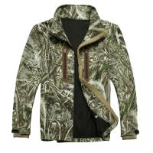 Military Softshell Jacket , Windstopper Softshell Jacket Camo Color