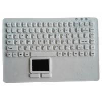 Buy cheap OEM IP68 medical silicone rubber keyboard for laptop PC keyboard from Wholesalers