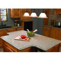 Wholesale White Kitchen Natural Granite Countertops Worktops 45 Degree Cutting from china suppliers