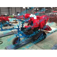 Wholesale 4LZ-0.7 mini paddy combine harvester with crawler, rice wheat 14HP from china suppliers