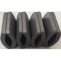 Wholesale Customized Permanent Big Ferrite Arc Magnet For Air Pump 52.12*50.18*7.27 mm from china suppliers