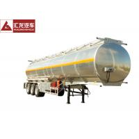 Wholesale 46000 L Full Volume Fuel Tank Trailer , High End Fuel Transfer Trailer from china suppliers