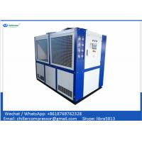 Wholesale 100kw Scroll Air Cooled Anodizing Water Chiller / Industrial Water Chiller for Anodizing from china suppliers